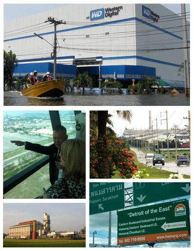 Western Digital Thailand, Eastern Seaboard, Amata City, Laem Chabang Port